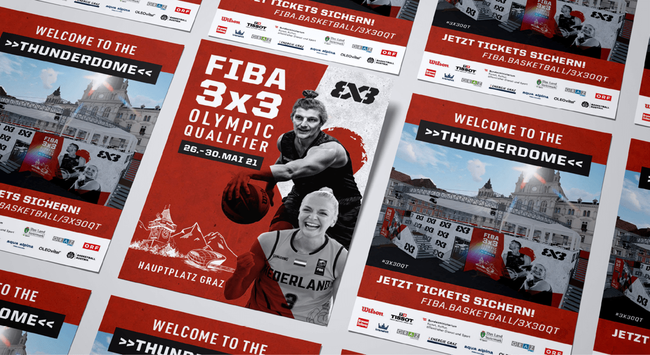 MatchxFIBA3x3 Basketball Olympic Qualifier